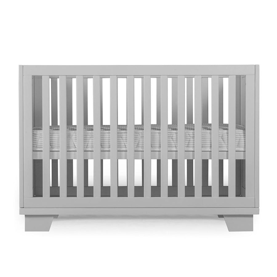 Gray Convertible Crib
