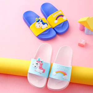Unicorn Slippers - Summer Toddler Flip Flops