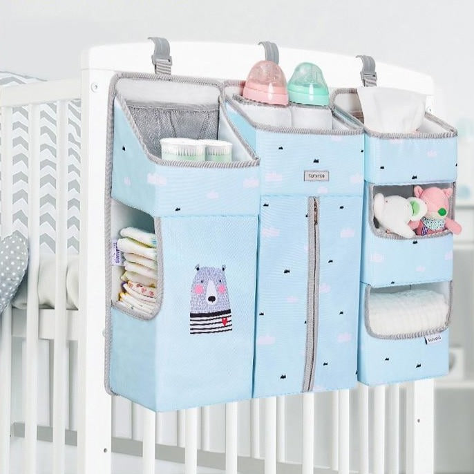 Portable Baby Crib Organizer Bed