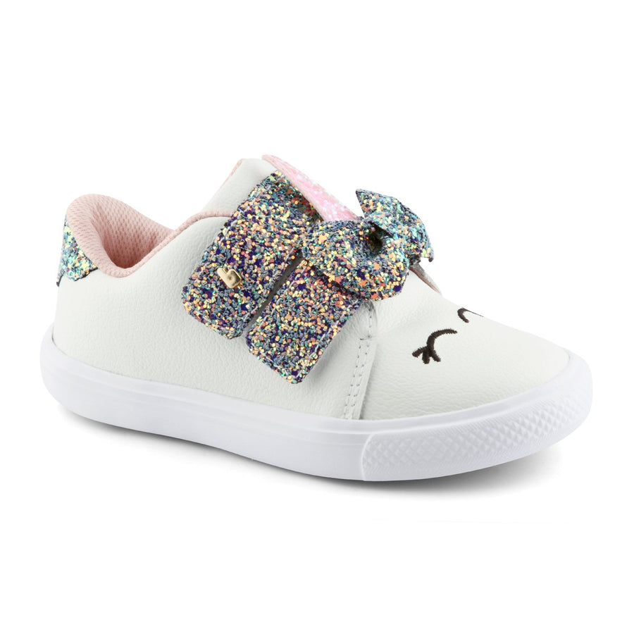 Bibi Unicorn White Sneakers