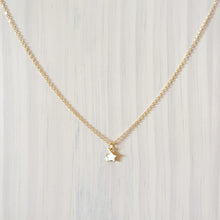 Load image into Gallery viewer, Twinkle Star Pendant Necklace - White