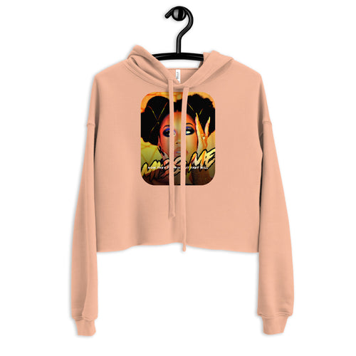 Signature Monique Samuels Tagline Crop Hoodie