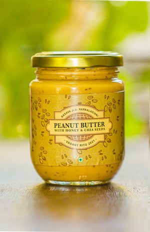Peanut Butter with Honey & Chia seeds (250 g)