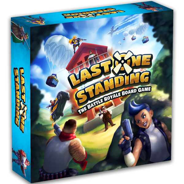 What's new in the next printing of Last One Standing?