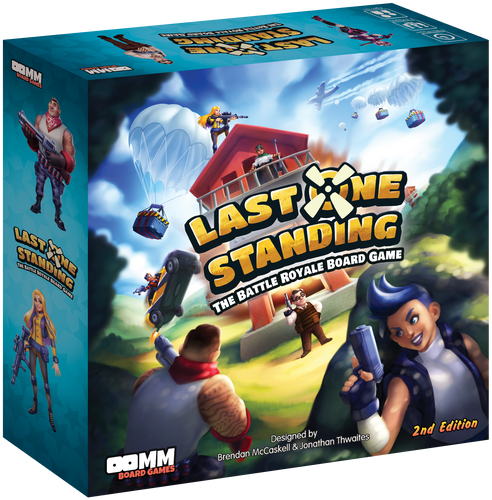 Last One Standing: The Battle Royale Board Game (2nd Edition)