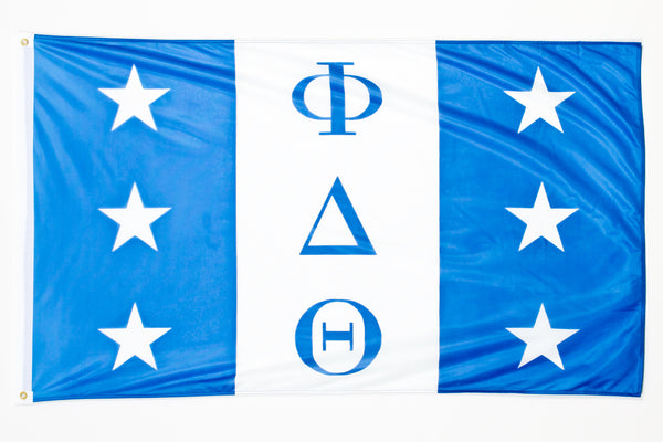 Phi Delta Theta Official 3x5 Flag More Greeks
