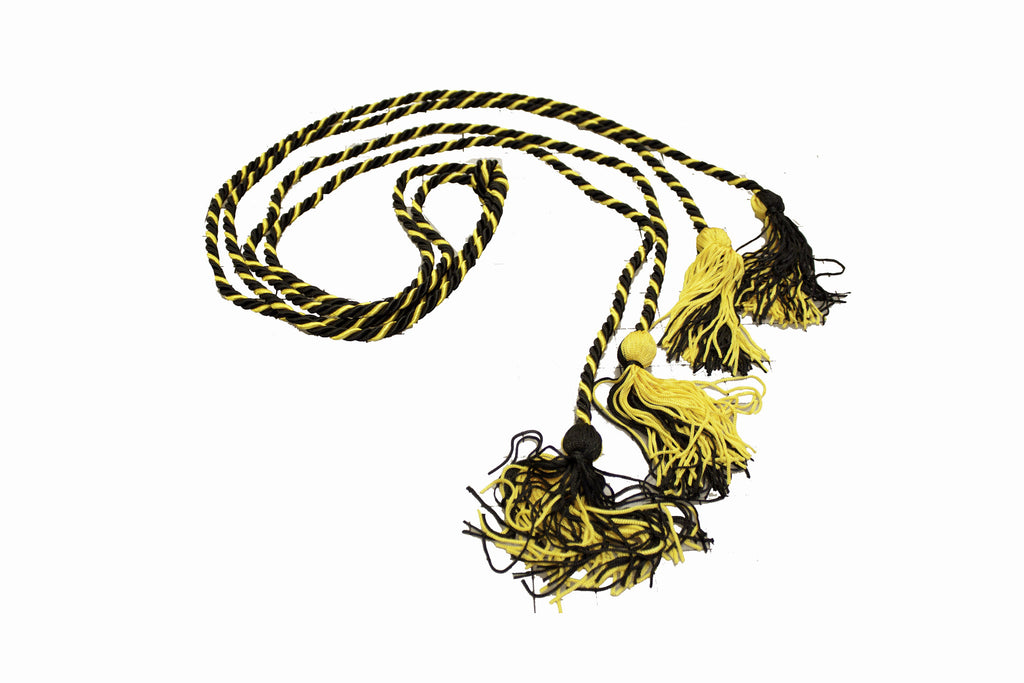 Sigma Nu Graduation Cords Black And Gold More Greeks