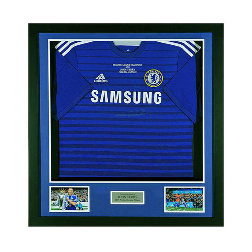 John Terry Signed Chelsea FC Shirt - 2014/2015 PRE-FRAMED