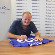 Load image into Gallery viewer, Kerry Dixon Signed Shirt '193' - Number of Goals Scored