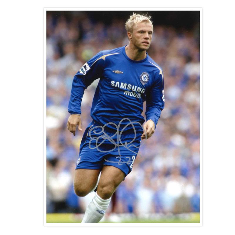 Eidur Gudjohnsen Signed Photo