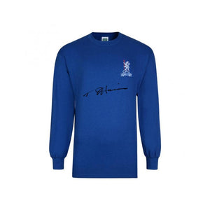 Ron Chopper Harris Signed Wembley Long Sleeve Top