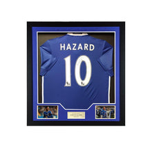 Load image into Gallery viewer, Eden Hazard Signed Chelsea FC Shirt 2016/2017 PRE-FRAMED