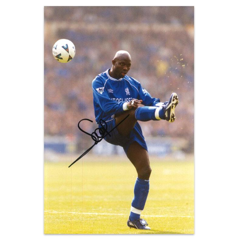 George Weah Signed Photo