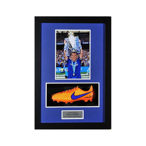 John Terry Signed New Orange Nike Football Boot 2014/2015 Framed