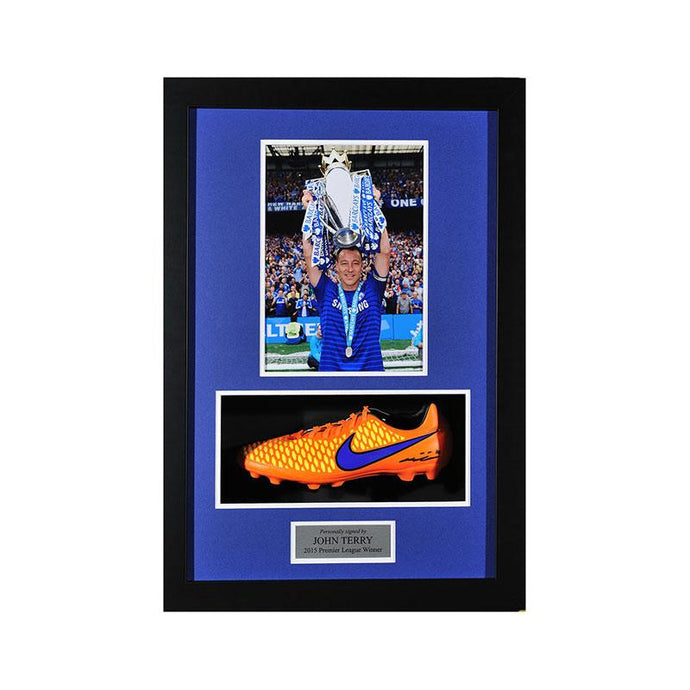 John Terry Signed Nike Majista Boot