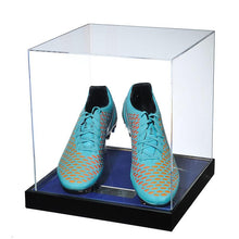 Load image into Gallery viewer, John Terry Signed Match Worn Blue Football Boots, 2014/2015 - Acrylic Case