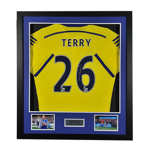 john terry signed chelsea shirt, Signed Chelsea FC shirts