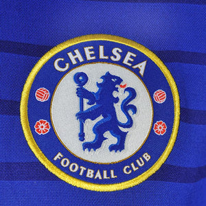 Close up of Chelsea FC badge