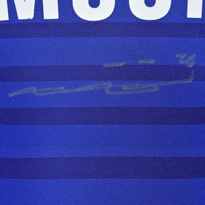 close up of John Terry signature
