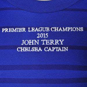 Close up of John Terry Signed Shirt embroidery