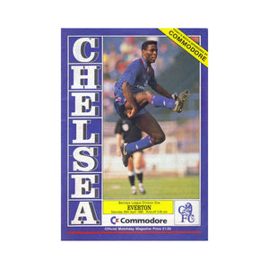 Chelsea FC vs Everton Programme 28 Apr 1990