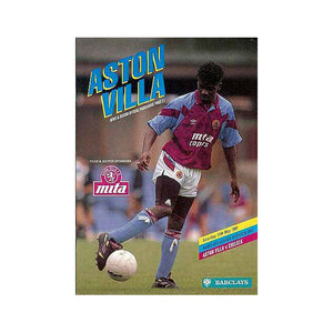 Aston Villa vs Chelsea FC Programme 11 May 1991