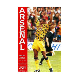 Arsenal vs Chelsea FC Programme 05 Oct 1991