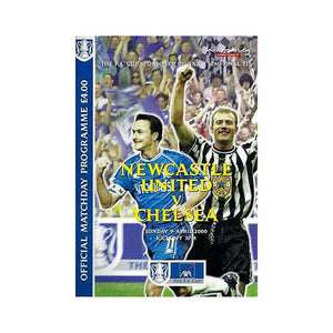 Newcastle vs Chelsea FC Programme 09 Apr 2000