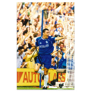 Gus Poyet Signed Photo