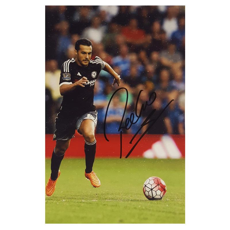 Pedro Signed Photograph - Small Portrait