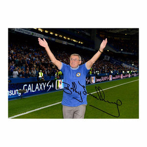 Bobby Tambling Signed Photo, returning back to Stamford Bridge