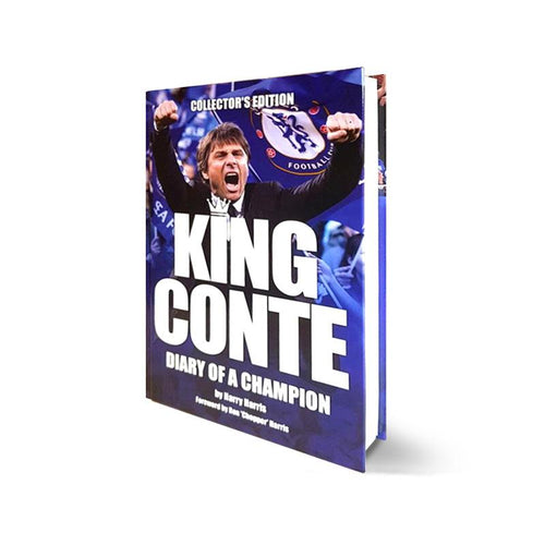 King Conte Book Signed by Harry Harris and Ron 'Chopper' Harris - Exclusive