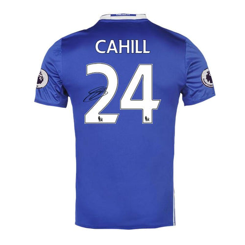 Gary Cahill Signed Match Worn Chelsea FC Shirt 2016/2017