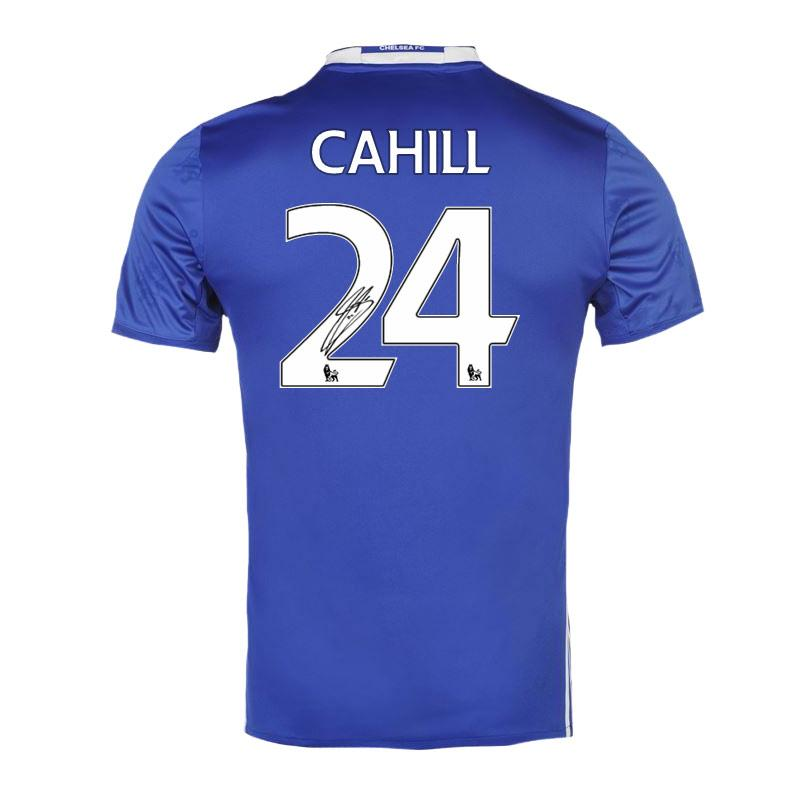 Gary Cahill Signed 2016-2017 Shirt