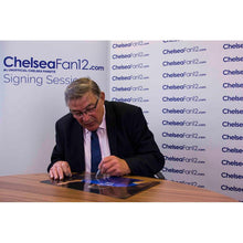 Load image into Gallery viewer, Close up of Bobby Tambling hand signing a photo