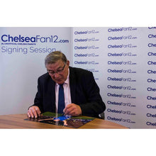 Load image into Gallery viewer, Bobby Tambling Signing Welcome home photo, during ChelseaFan12 signing session