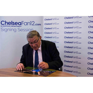 Bobby Tambling Signing Welcome home photo, during ChelseaFan12 signing session