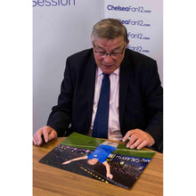 Load image into Gallery viewer, Bobby Tambling Signing Welcome home photo image 2, during ChelseaFan12 signing session