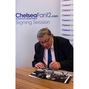 Bobby Tambling Signed Photo - Attempt on goal (A3)