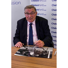 Load image into Gallery viewer, Bobby Tambling Signed Photo - Attempt on goal (A3)