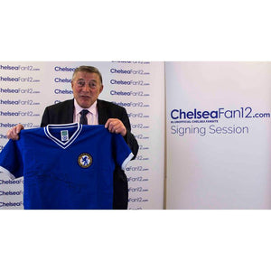Bobby Tambling Signed Chelsea Retro Shirt - 1960