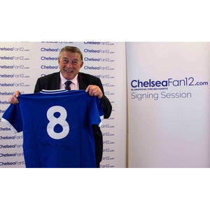 Bobby Tambling Signed Chelsea Retro Shirt