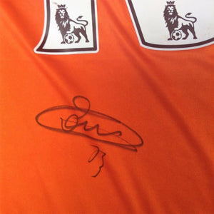 Thibaut Courtois Signed Shirt - 2014/15 Season