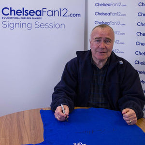 Ron Harris Signed Chelsea 1970 Retro Football Shirt