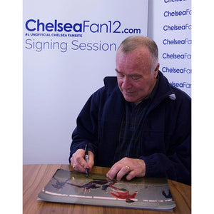 Ron Harris Signing Picture 1, during signing session with ChelseaFan12