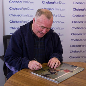 Ron Harris Signing Picture 2, during signing session with ChelseaFan12