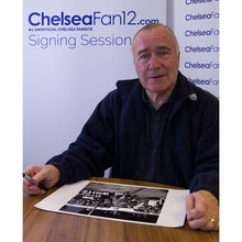 Load image into Gallery viewer, Ron Harris Signed FA Cup Fourth Round Replay Photo - Chelsea v Preston North End