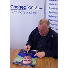 Load image into Gallery viewer, Ron Harris signing a Chelsea FC Photo from 1970