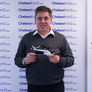 Gary Chivers Signed Football Boot - Puma King