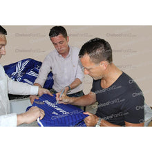 Load image into Gallery viewer, John Terry signing limited edition shirt - close up